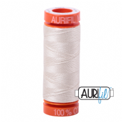 Aurifil 50 Cotton Thread - 2309 (Silver White)
